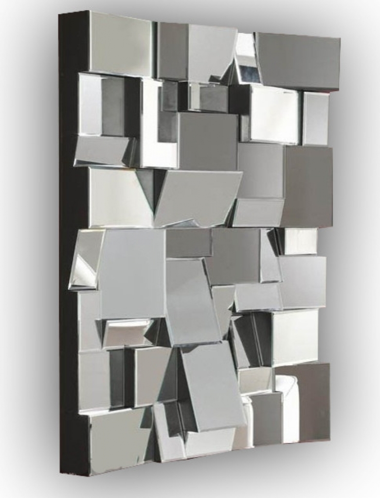 Designer Wall Mirrors Contemporary Wall Mirrors Decorative Large Regarding Large Contemporary Mirrors (View 6 of 15)