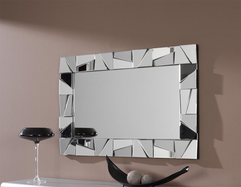 Designer Wall Mirrors Round Bathroom Mirrors Raundin Round Within Designer Mirrors For Walls (Image 9 of 15)