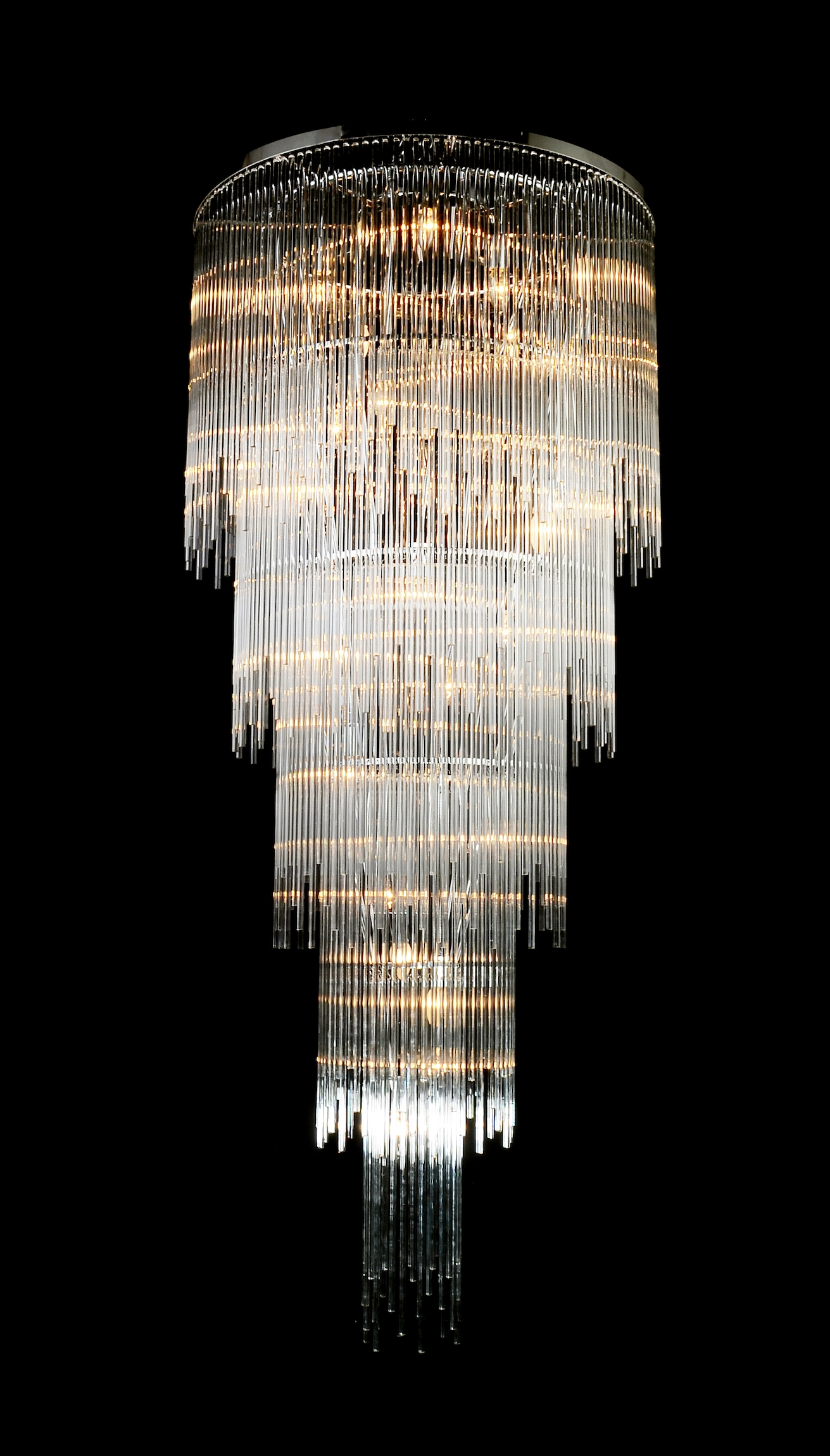 Details About Luxury Bright Crystal Chandeliers Modern Crystal Pertaining To Huge Crystal Chandelier (View 15 of 15)