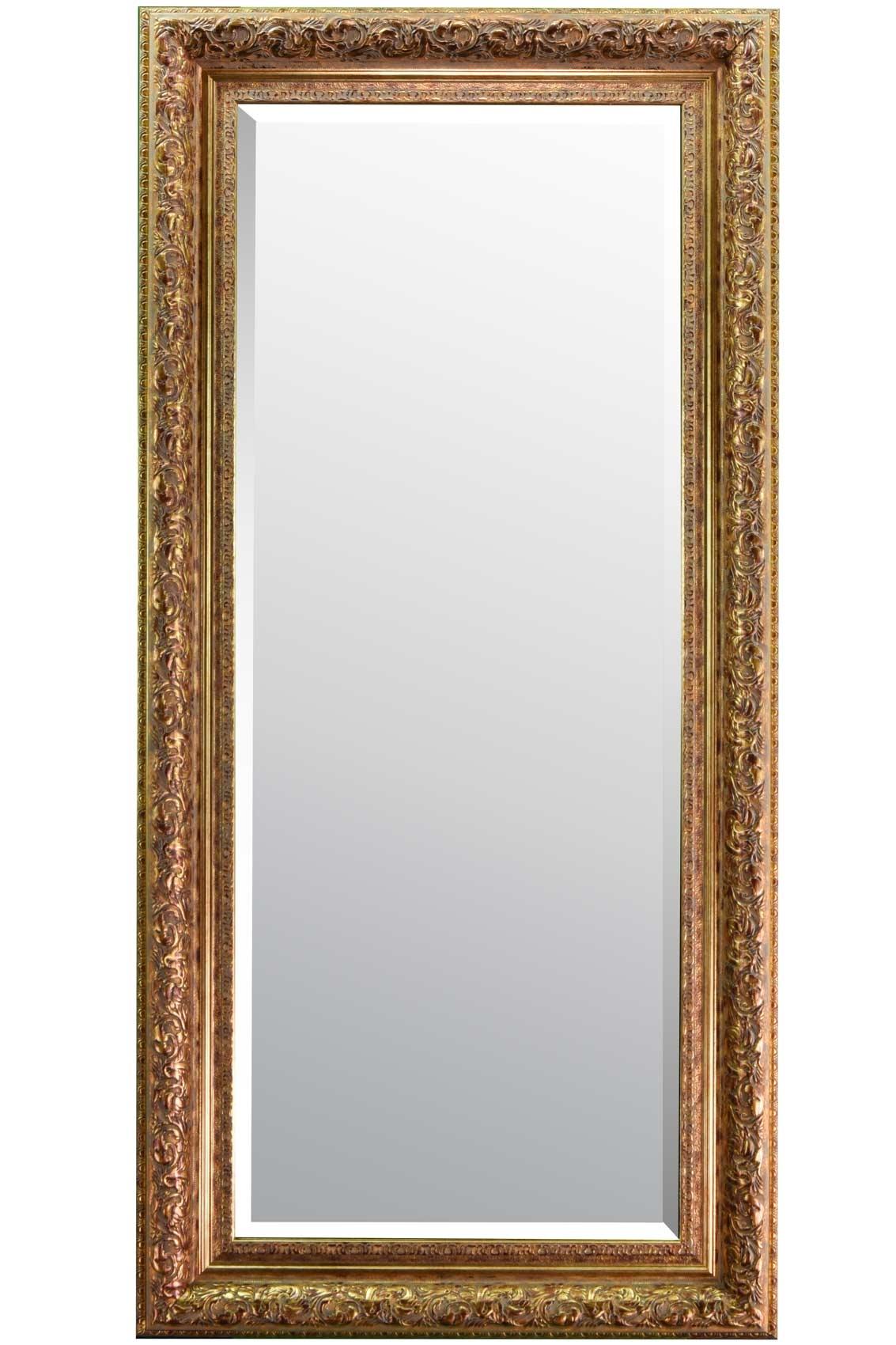 Devonshire Gold Full Length Mirror 177x86cm Soraya Interiors Uk In Full Length Gold Mirror (Image 6 of 15)