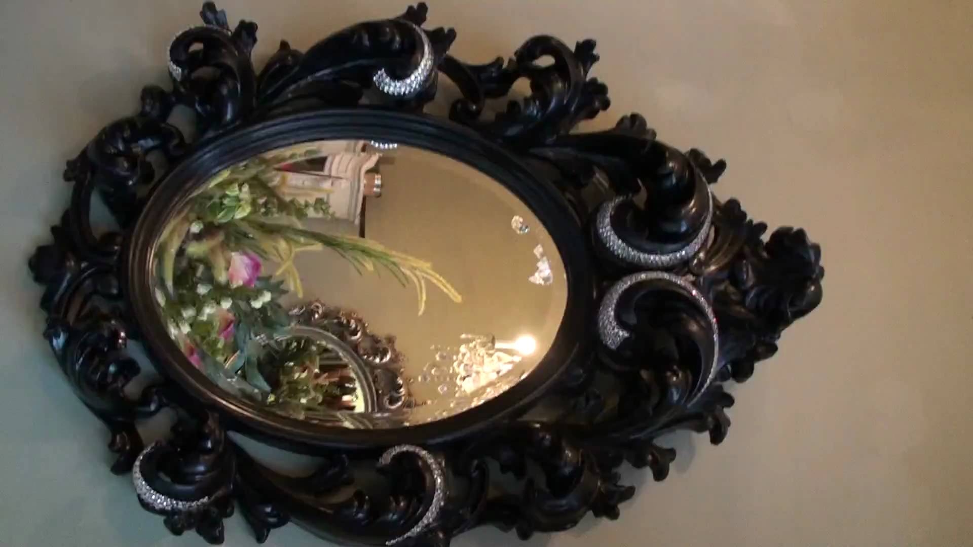 Diamond Encrusted Mirror Most Expensive In The World Youtube Regarding Expensive Mirrors (Image 9 of 15)