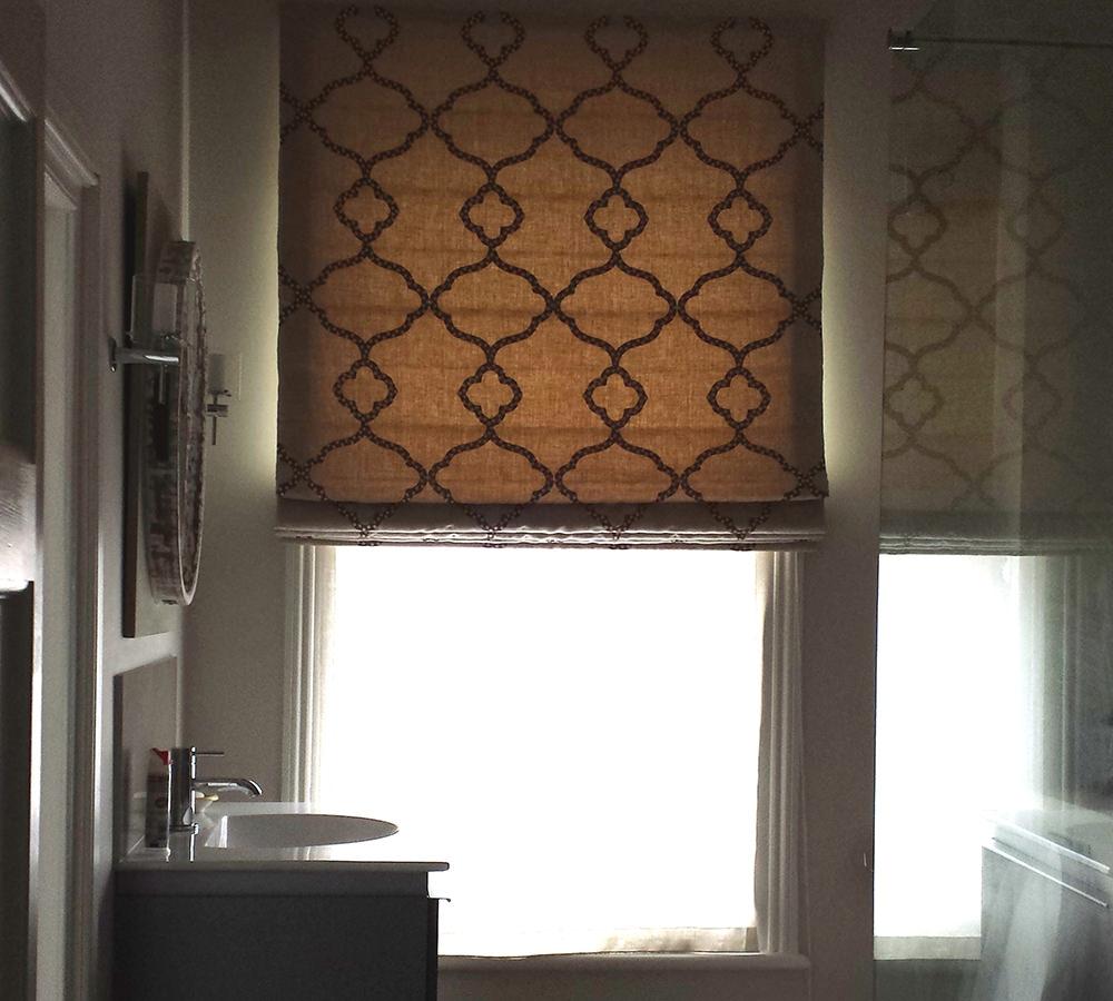 Diedra Handmade Bathroom Roman Blind Nefertiti Egypt Within Bathroom Roman Blinds (View 13 of 15)