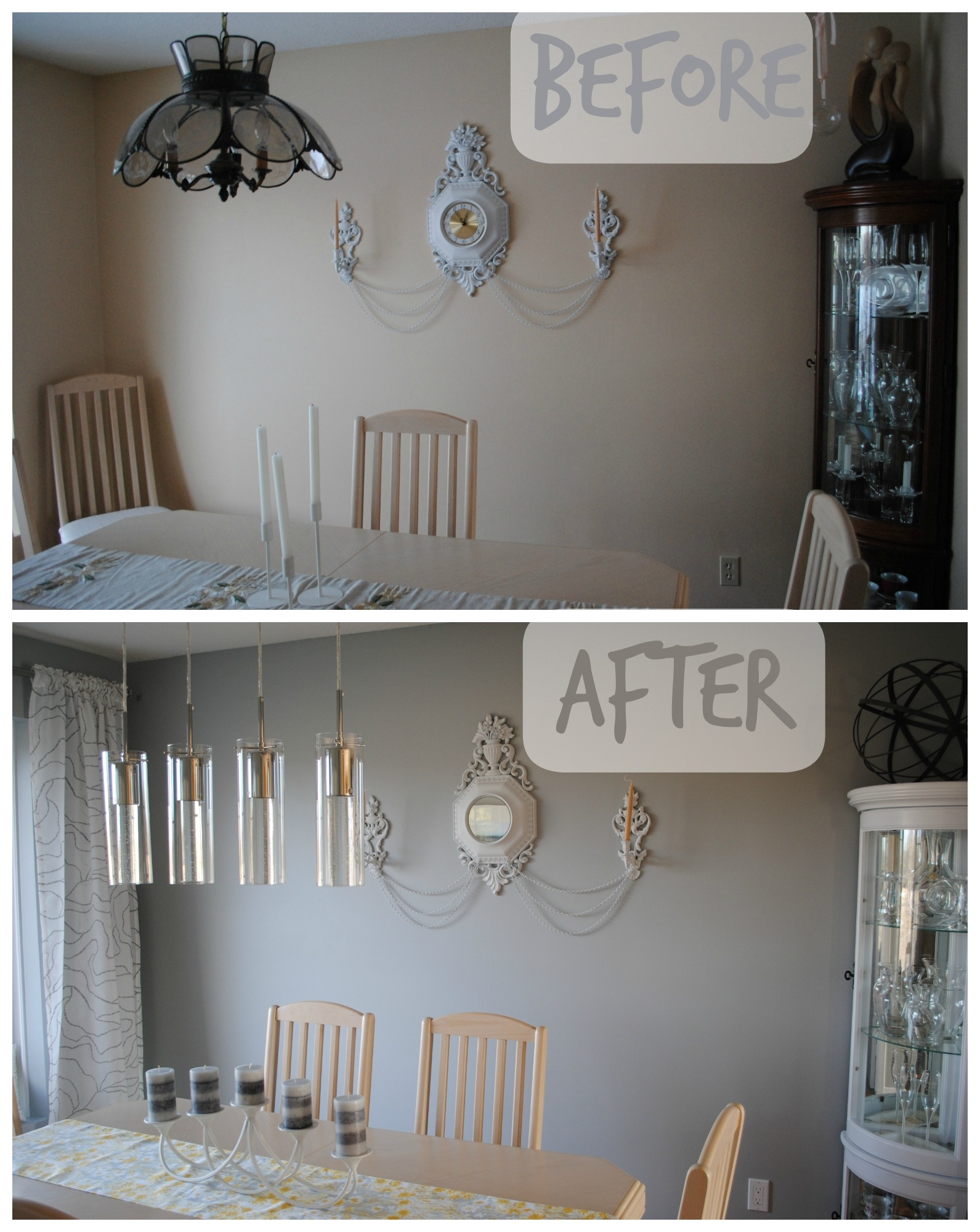 Dinning Room Reveal Tixeretne With Regard To Costco Lighting Chandeliers Image 10 Of 14