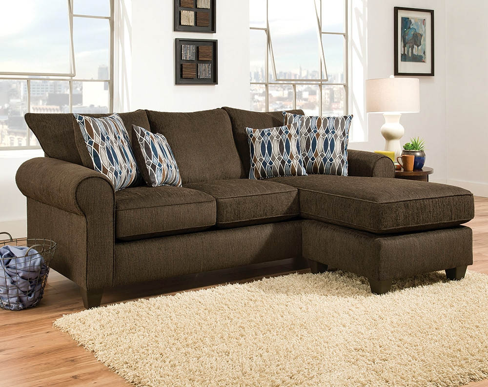 Discount Sectional Sofas Couches American Freight With Chocolate Brown Sectional Sofa (View 5 of 15)