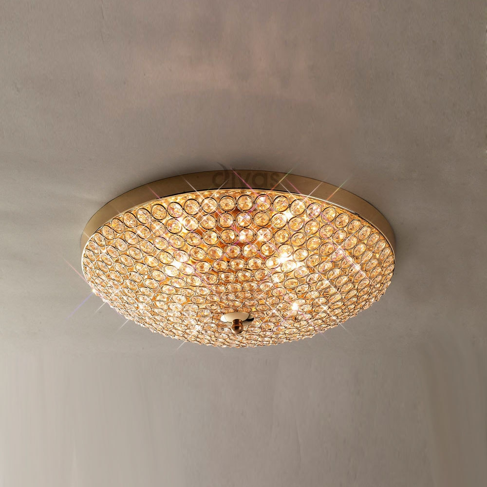 Diyas Lighting Official Diyas Lighting Stockist Lights 4 Intended For Flush Fitting Chandelier (View 10 of 15)