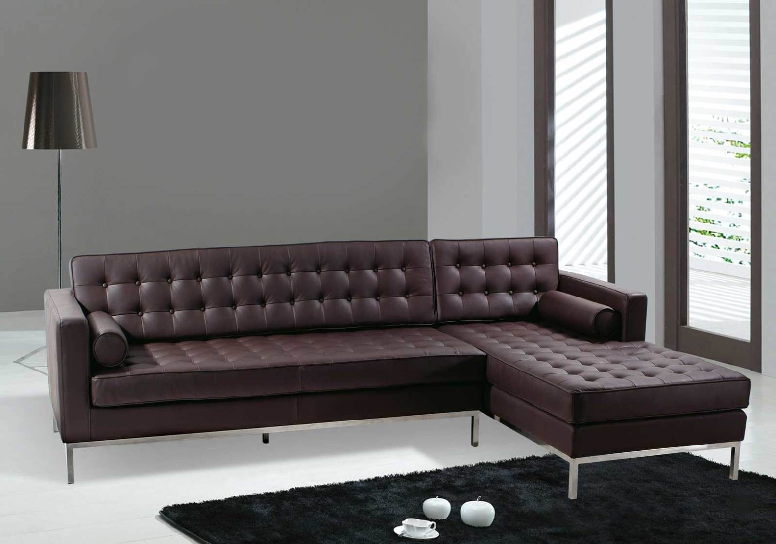 Dobson Leather Modern Sectional Sofa Style Furniture 2017 Photo Blog Intended For Dobson Sectional Sofa (Image 9 of 15)