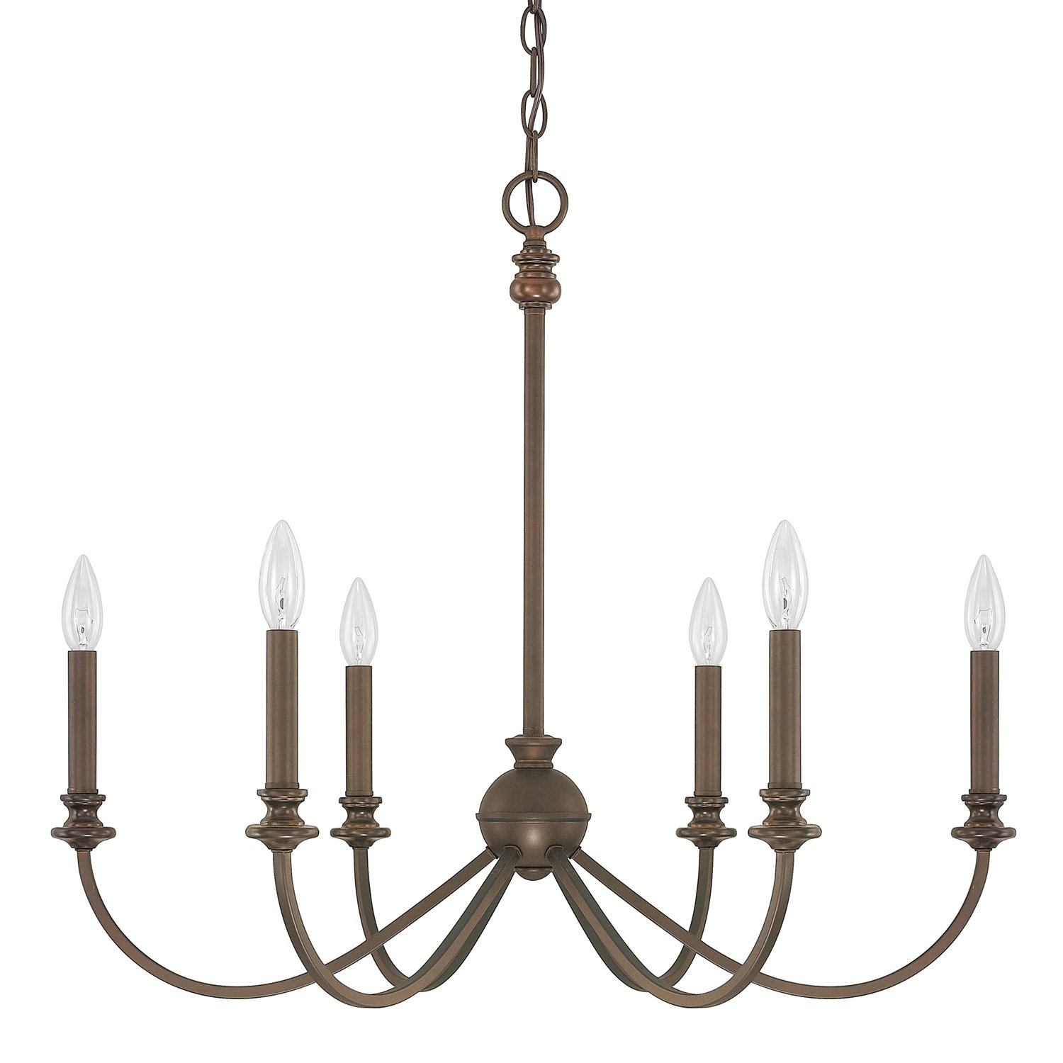 Donny Osmond Alexander 6 Light Candle Style Chandelier Reviews Within Candle Light Chandelier (Image 9 of 15)