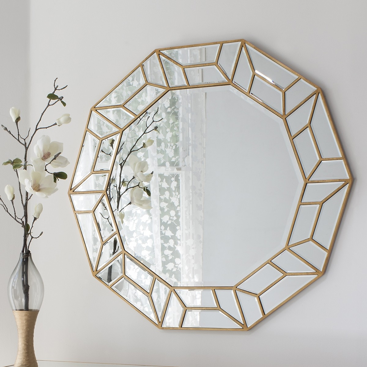 Dor Art Deco Mirror From 999999 Luxury Wall Mirrors Ashden In Deco Mirror (Image 9 of 15)