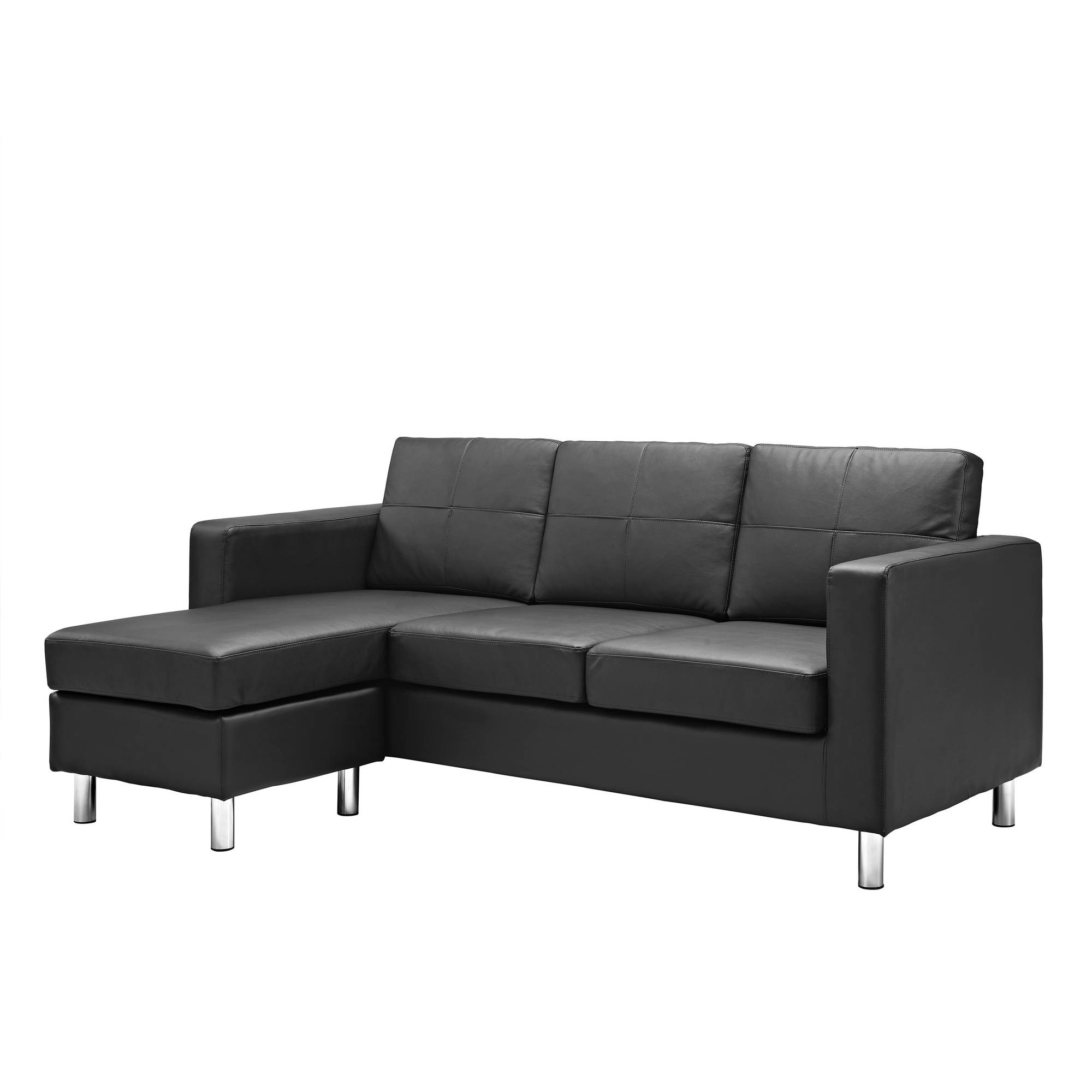 Dorel Living Small Spaces Configurable Sectional Sofa Multiple Pertaining To Durable Sectional Sofa (Image 9 of 15)