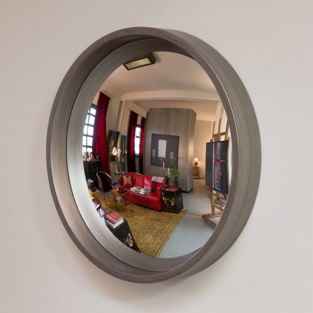 Dorian Decorative Convex Mirror With Decorative Convex Mirror (Image 9 of 15)