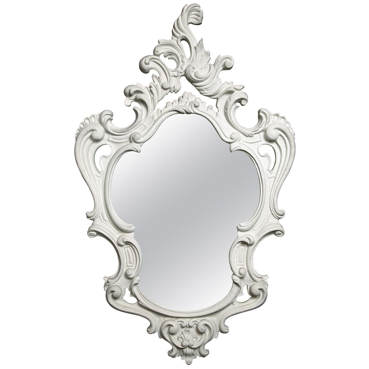 Dorothy Draper Style Baroque Plaster Mirror Modern Wall Mirrors Pertaining To Modern Baroque Mirror (Image 8 of 15)