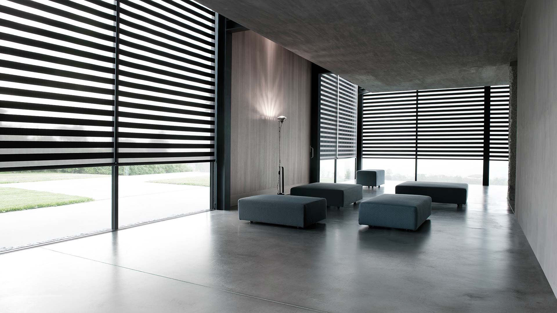 Double Roller Coulisse With Regard To Luxury Roman Blinds (Image 6 of 15)