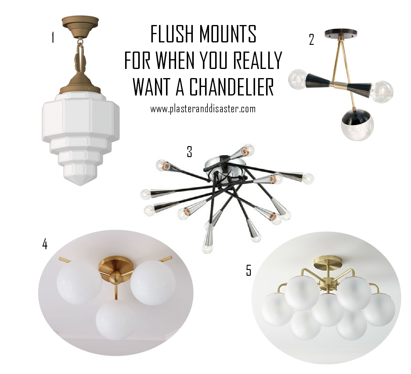 Down The Rabbit Hole An Affordable Flush Semi Flush Mount Round For Small Chandeliers For Low Ceilings (Image 5 of 15)