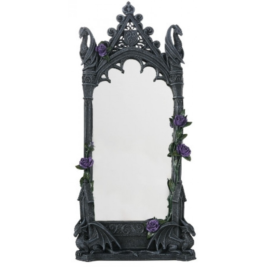 Featured Image of Gothic Wall Mirror