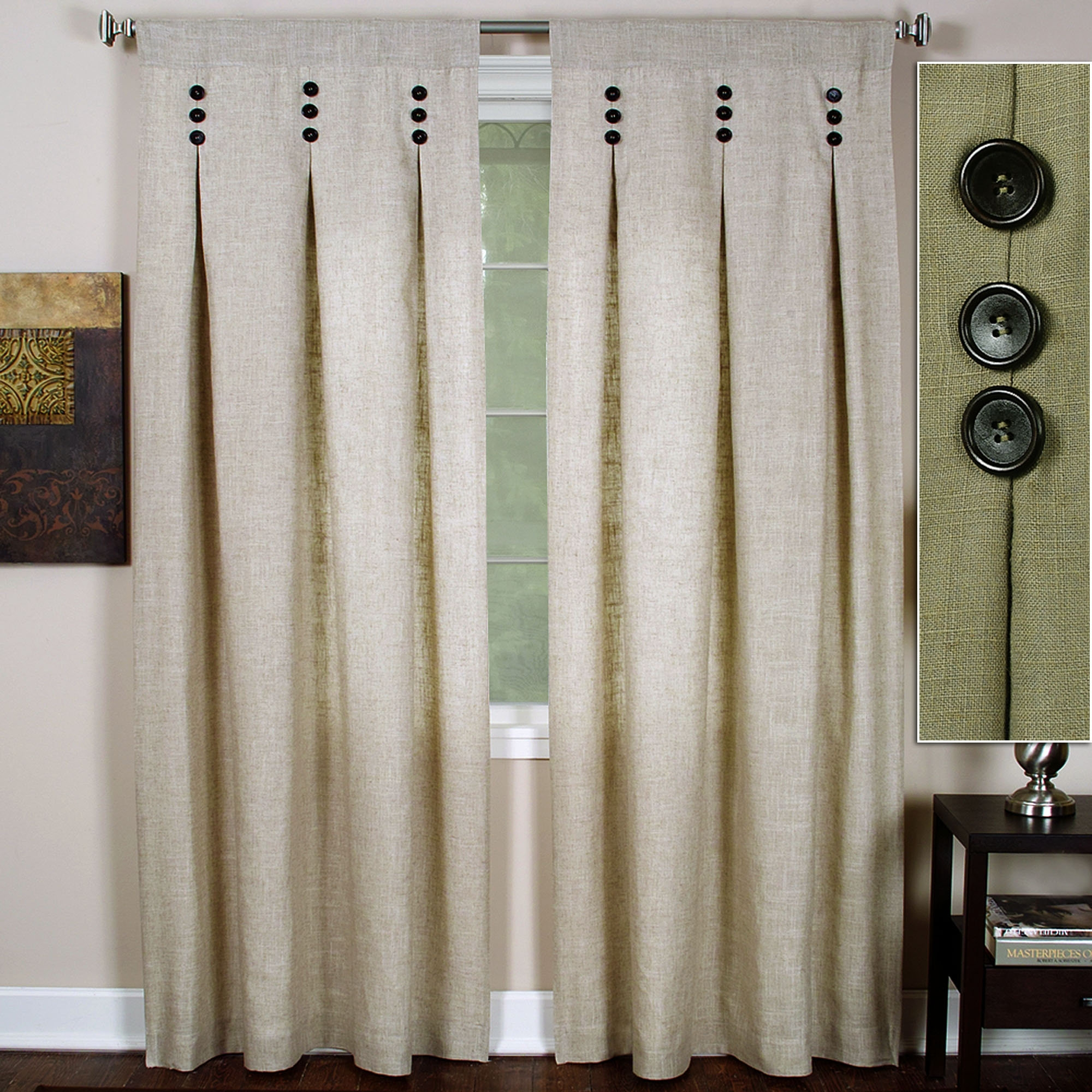 Drapes Modern Curtains And Drapes Inverted Pleat Curtains Regarding Curtains Pleated Style (Image 7 of 15)