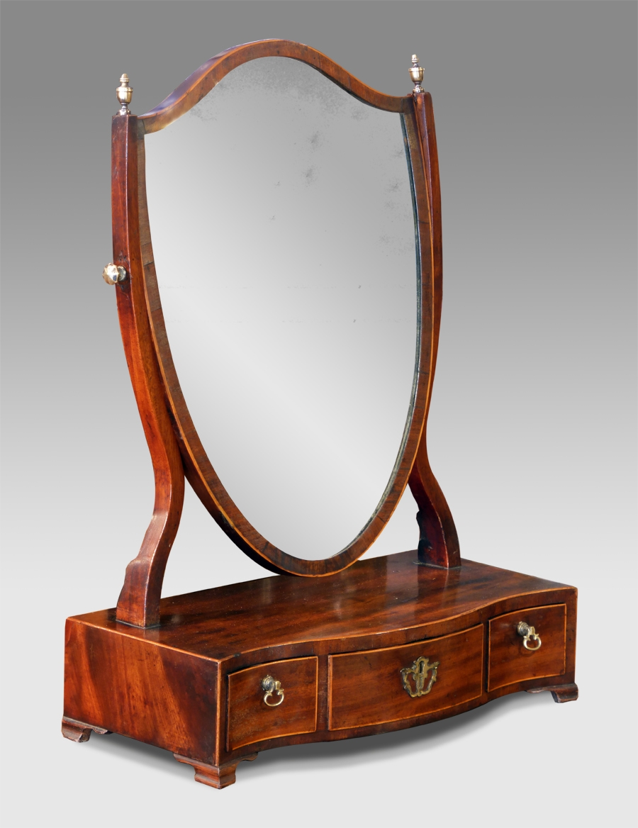 Dressing Table With Full Mirror Pertaining To Antique Dressing Mirror Full Length (Image 13 of 15)