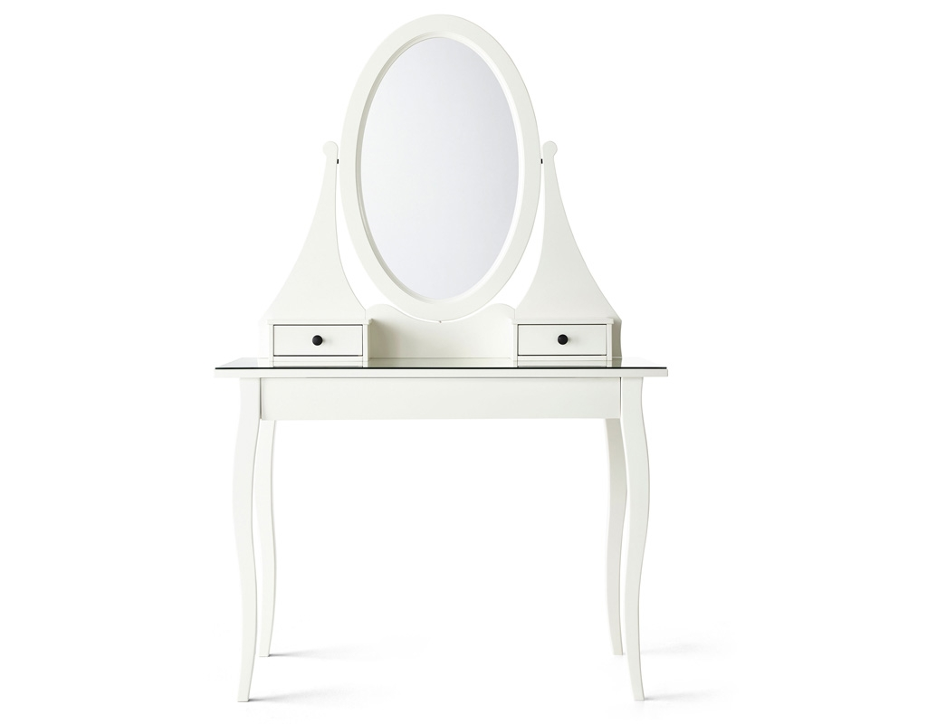 Dressing Tables Ikea Within Mirror On Stand For Dressing Table (Image 4 of 15)