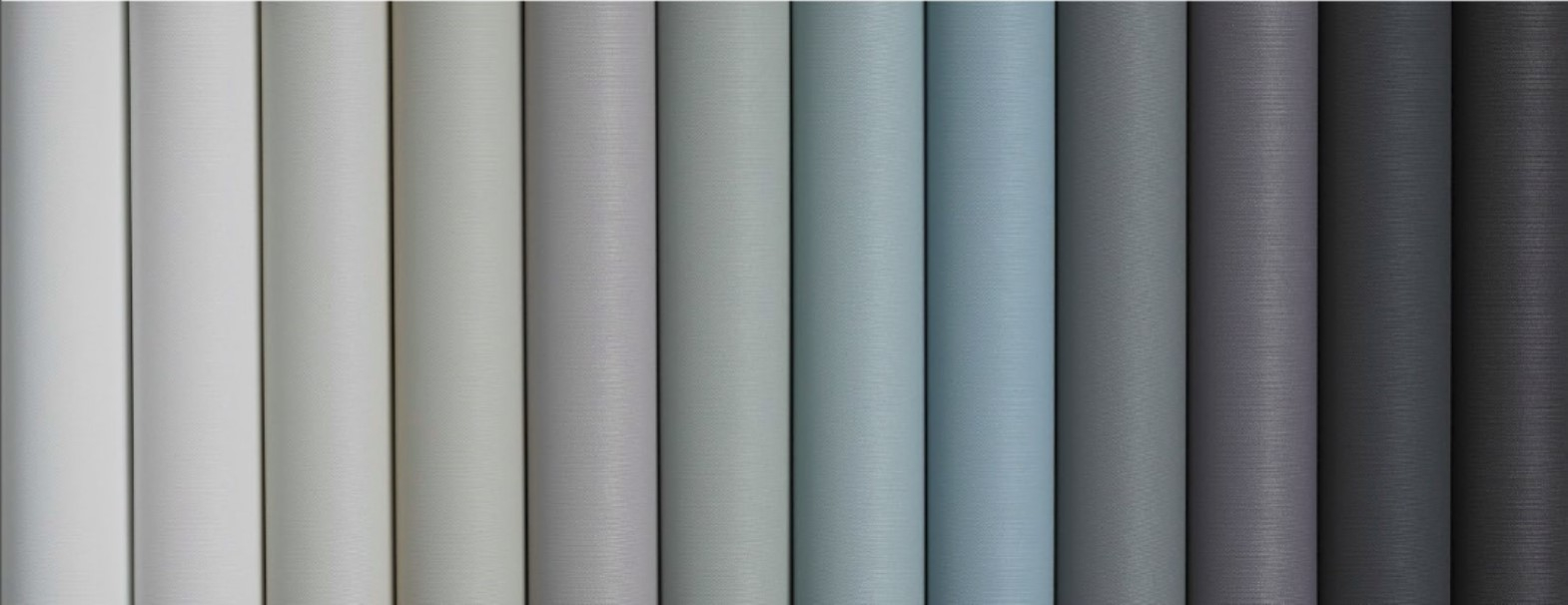 Dulux Most Popular Paint Colours Now Have Roller Blinds Fabrics Inside Roller Fabric Blinds (Image 4 of 15)