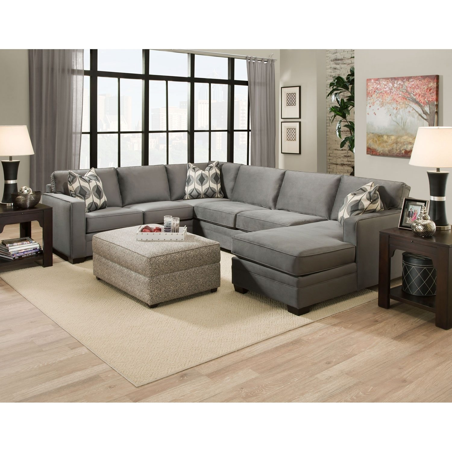 Durable Sectional Sofa Hotelsbacau With Durable Sectional Sofa (Image 10 Of  15)