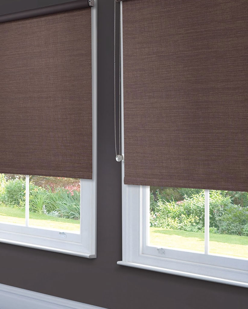 Dwa Blinds Window Covering Solutions Guernsey Throughout Fabric Roller Blinds (Image 6 of 15)