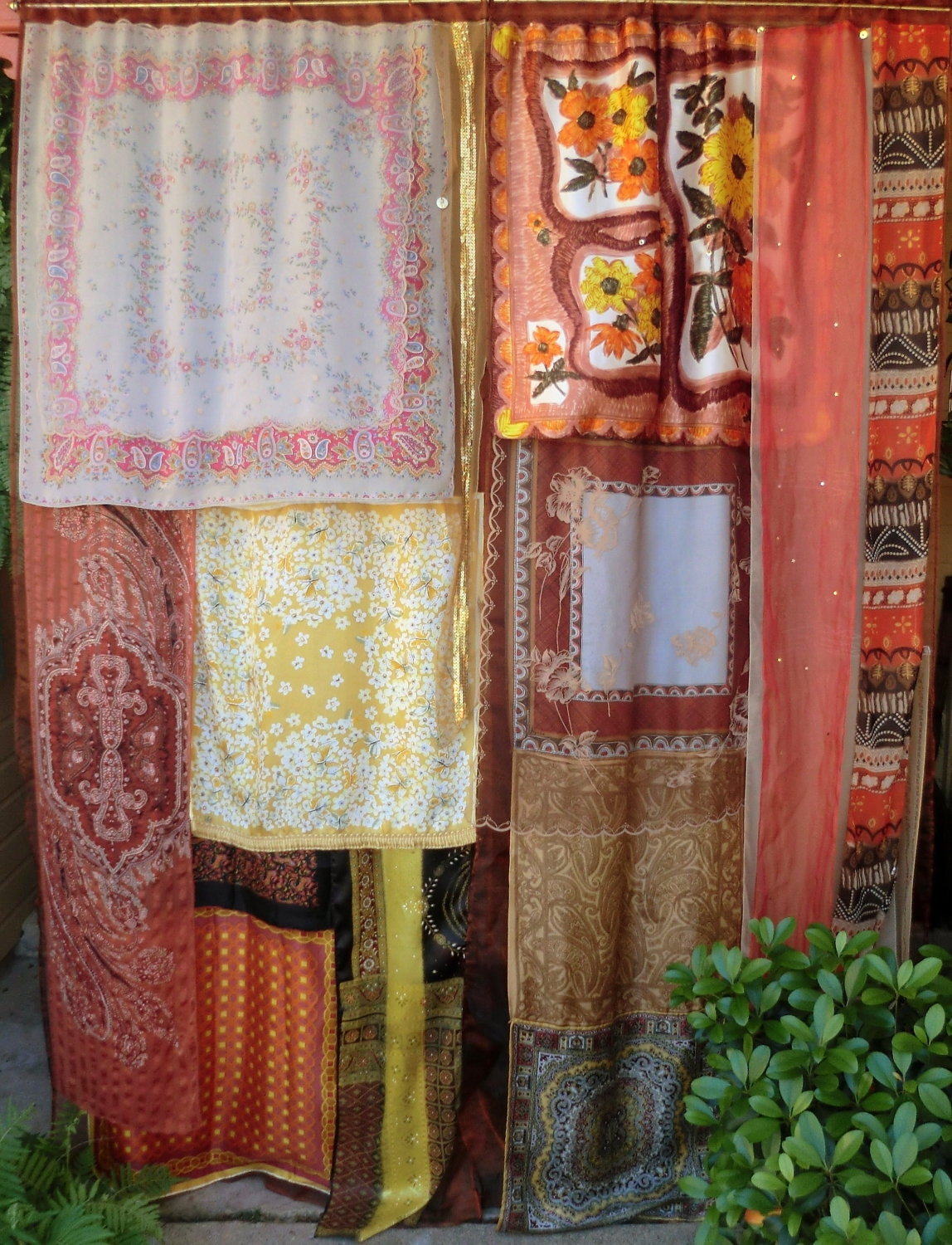Earthsong Handmade Gypsy Curtains Bohemian Global Hippie Within Bohemian Curtains (View 4 of 15)