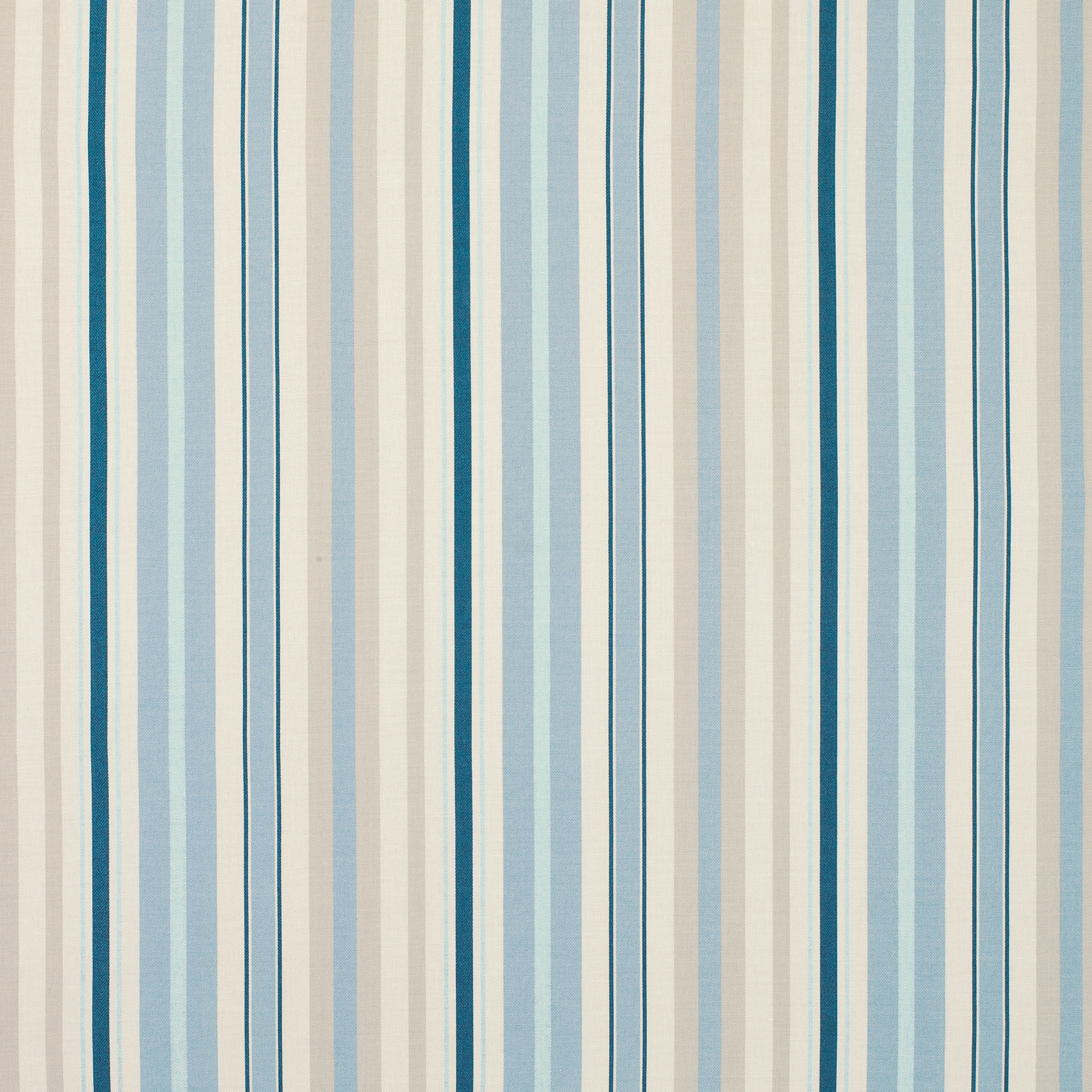 Eaton Stripe Linencotton Fabric Duck Egg At Laura Ashley Intended For Cotton Fabric For Curtains (Image 10 of 15)