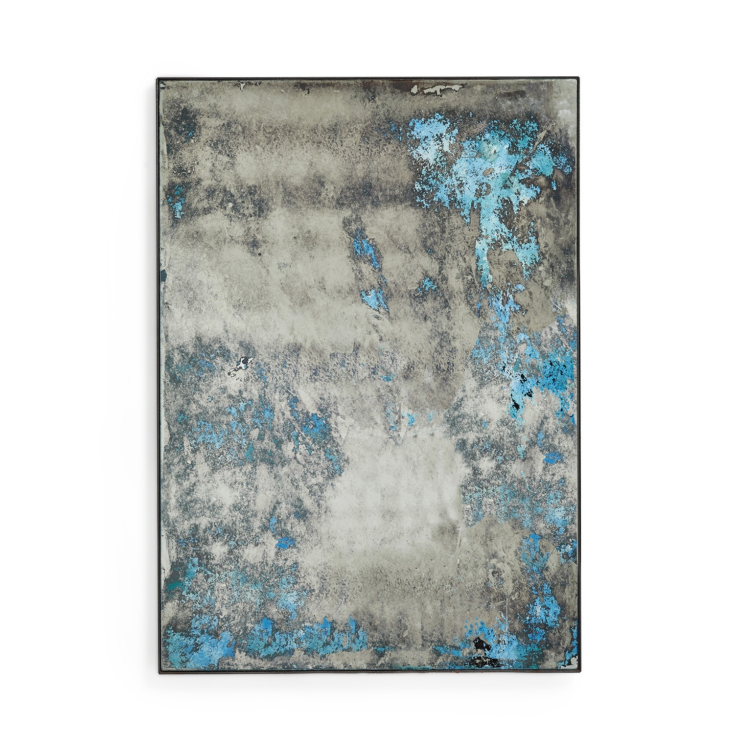 Featured Image of Blue Distressed Mirror