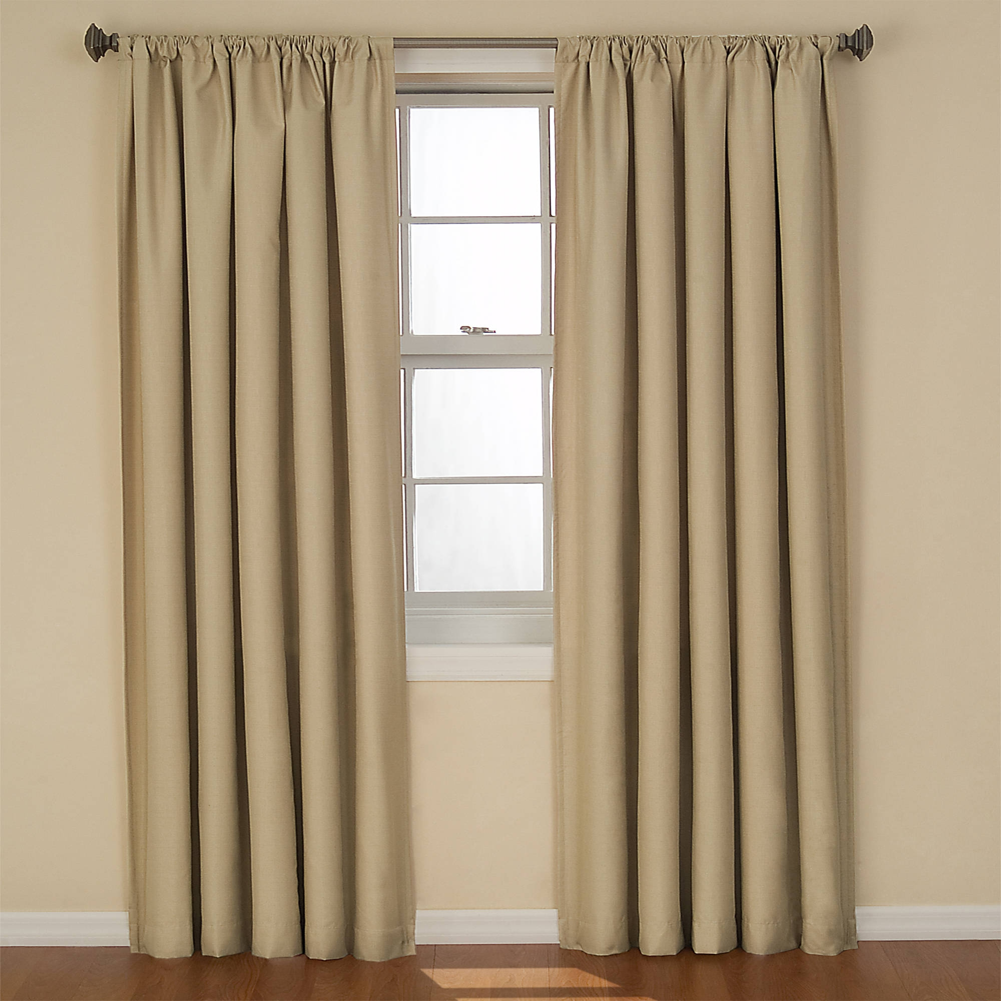 Eclipse Curtains Kendall Blackout Energy Efficient Curtain Panel Regarding Hotel Quality Blackout Curtains (Image 7 of 15)