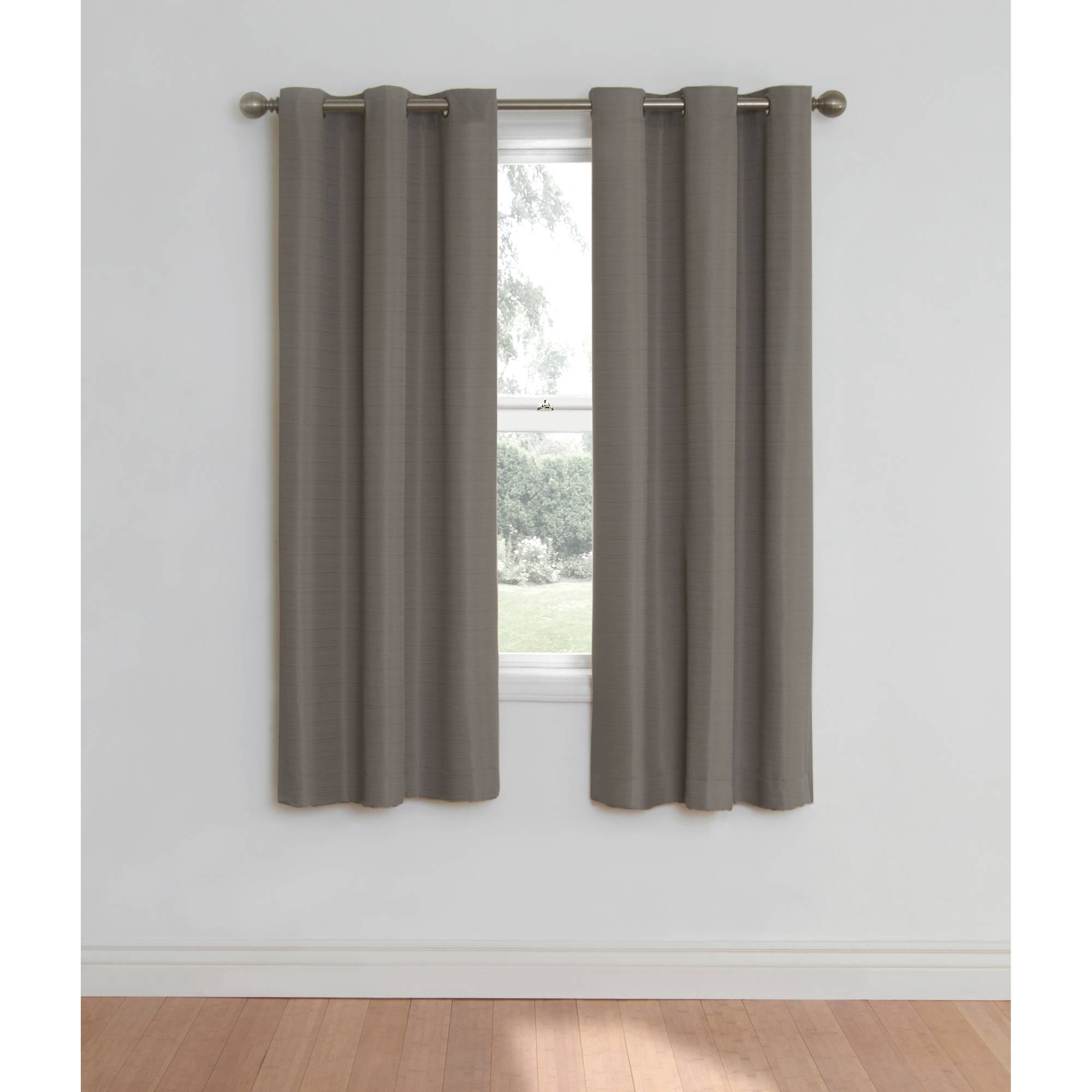 Eclipse Nottingham Thermal Energy Efficient Grommet Curtain Panel Regarding Thermal Bedroom Curtains (Image 8 of 15)