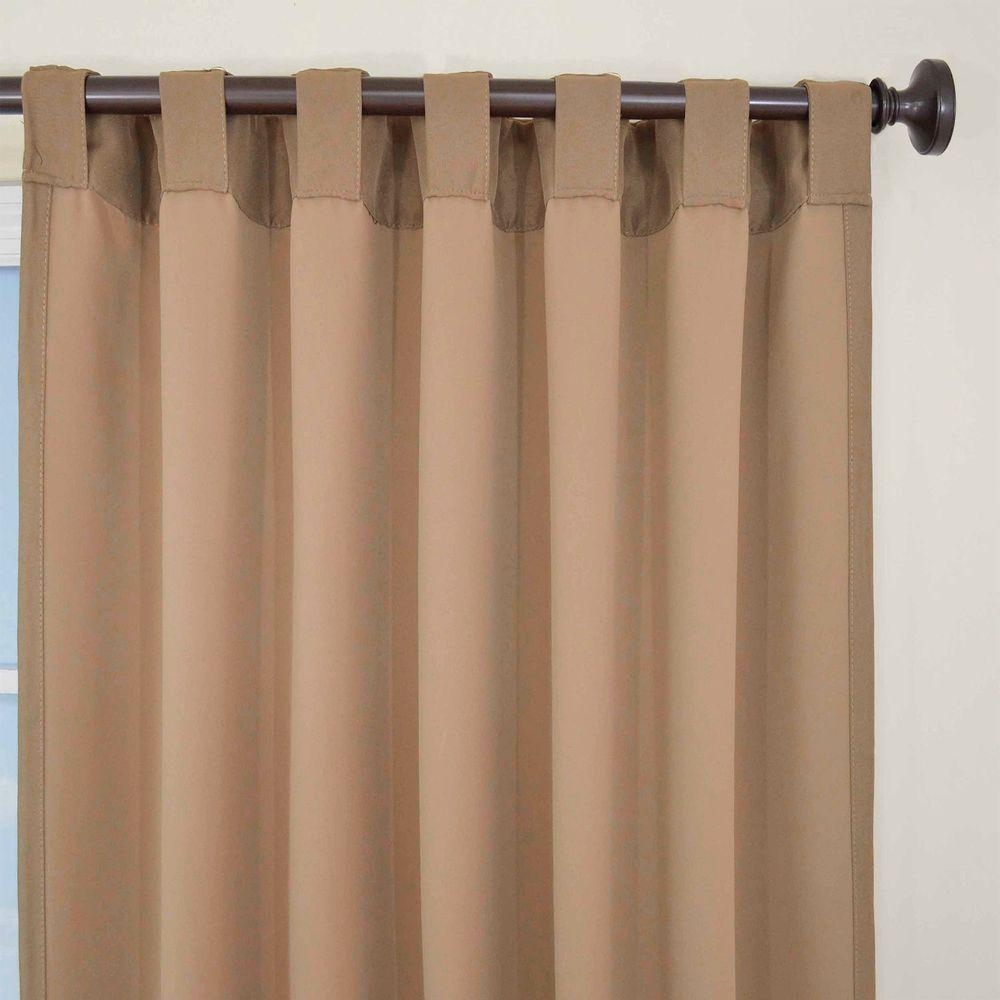 Eclipse Thermal Blackout Patio Door 84 In L Curtain Panel In Within Thermal Door Curtains (Image 7 of 15)