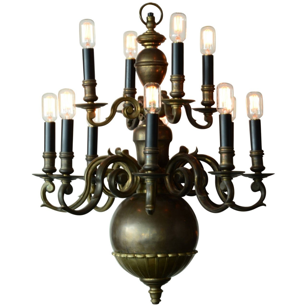 Edwardian Chandelier At 1stdibs Regarding Edwardian Chandelier (Image 7 of 15)
