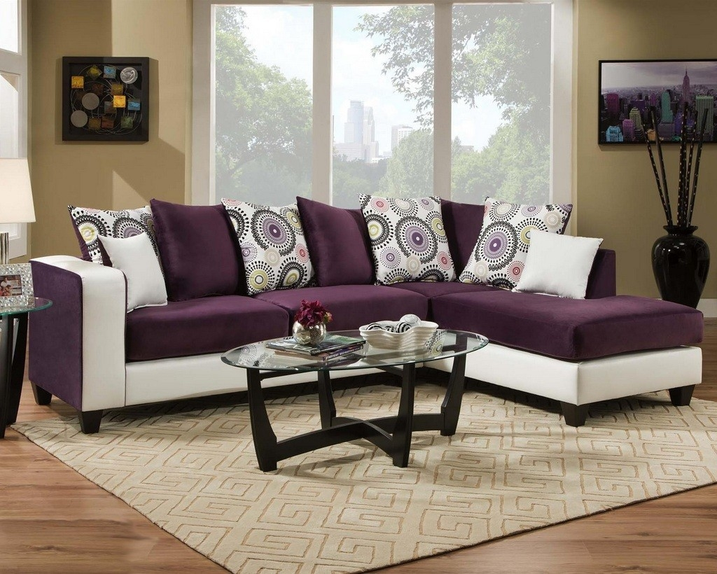 Eggplant Sectional Sofa All Information Sofa Desain Ideas With Eggplant Sectional Sofa (Image 3 of 15)