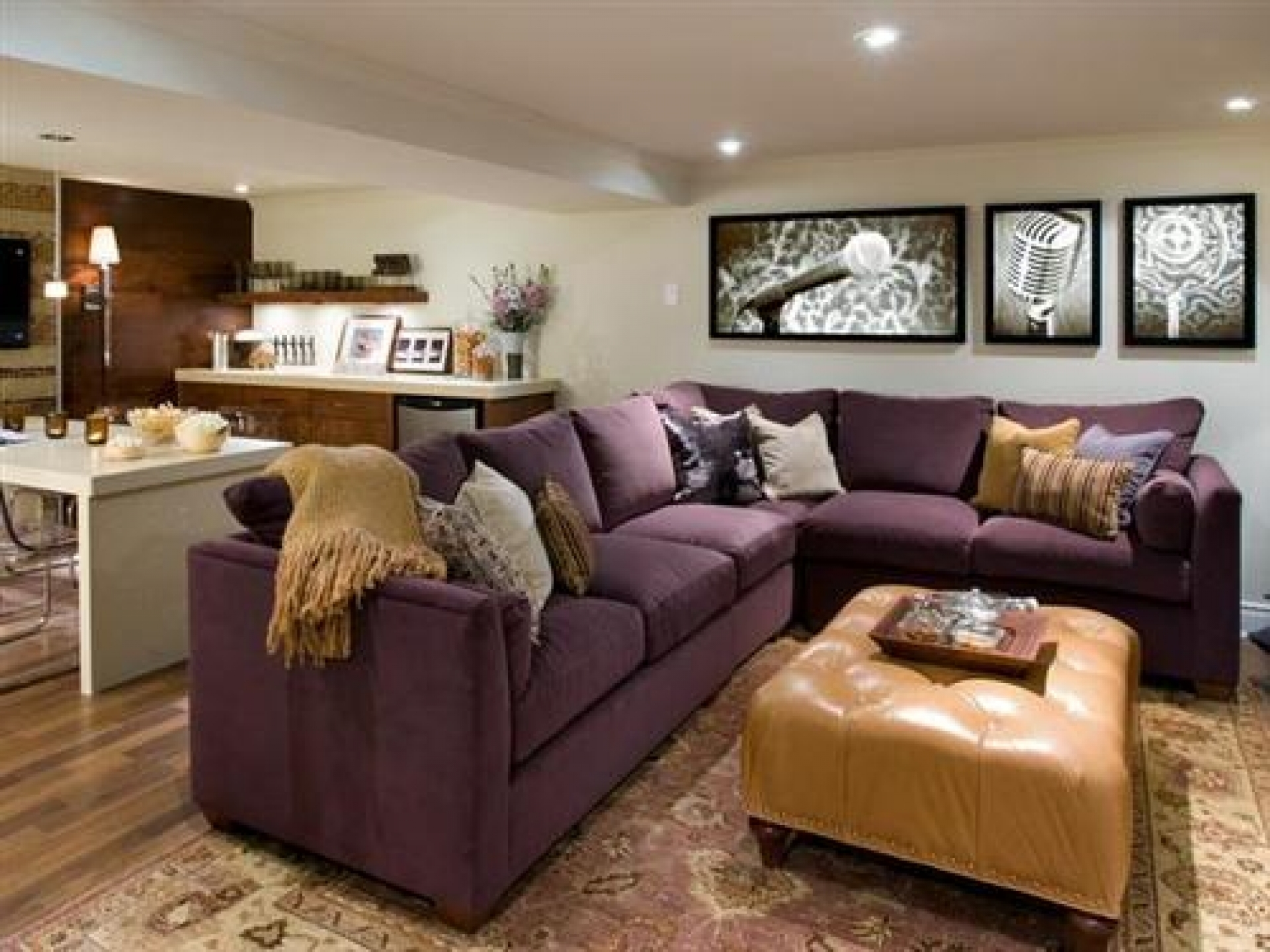 Eggplant Sectional Sofa Thesofa Throughout Eggplant Sectional Sofa (Image 6 of 15)