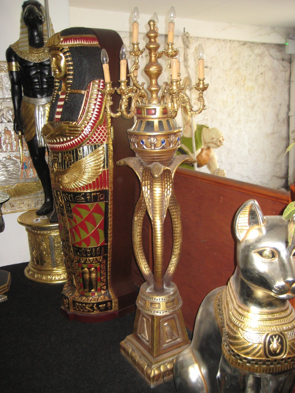 Egyptian Snake Chandelier 6ft Jr 5037 The Jolly Roger Life Pertaining To Egyptian Chandelier (Image 10 of 15)