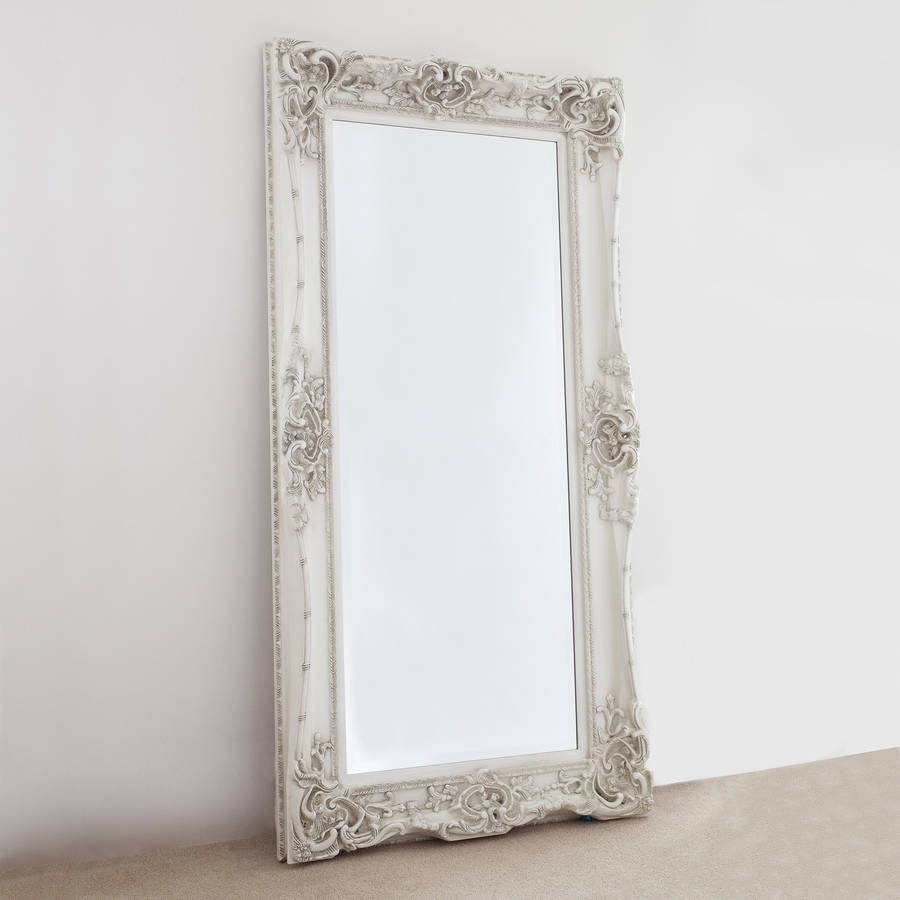 Elaborate Ivory Mirror Decorative Mirrors Online Pertaining To Elaborate Mirrors (Image 8 of 15)