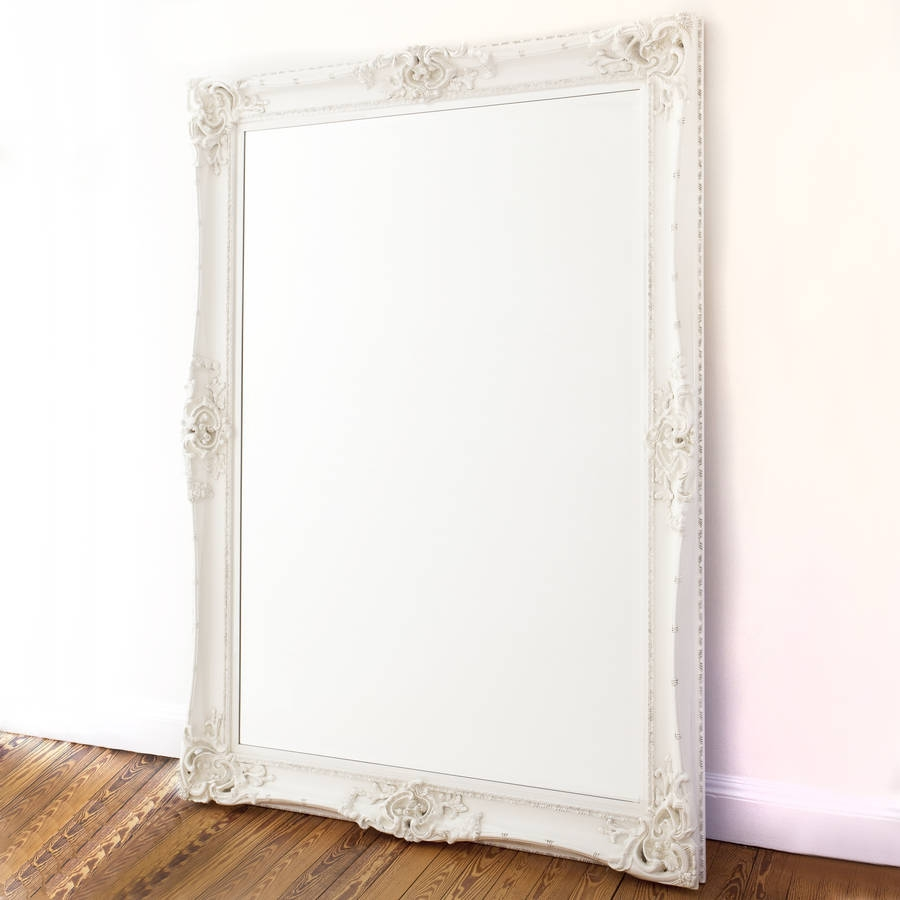 Elaborate White Mirror Decorative Mirrors Online Within Elaborate Mirrors (Image 10 of 15)