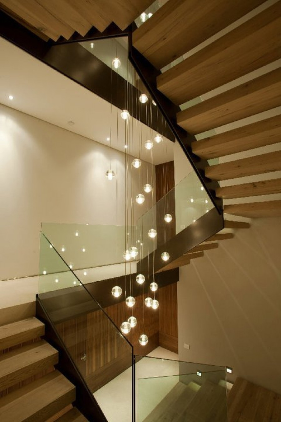 Elegance In Lighting Galilee White Candles Pendant Lighting Regarding Stairwell Chandelier Lighting (Image 4 of 15)