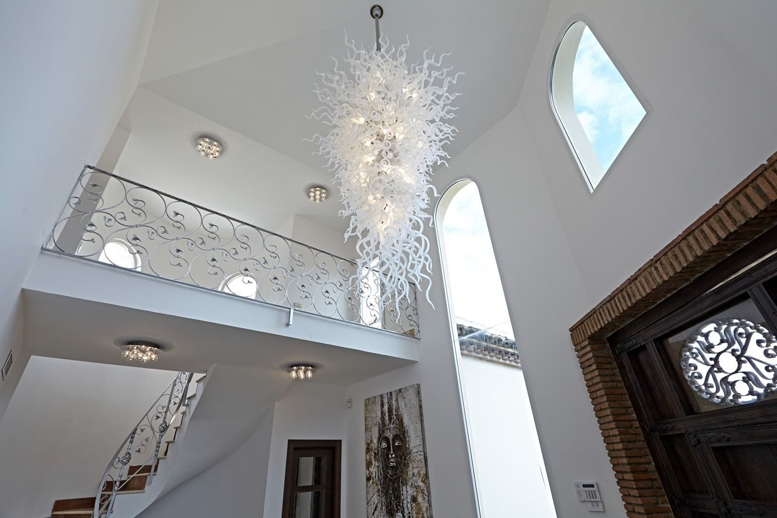 Elegant Large Chandelier In Dining Room Add Depth To Your House Inside Large Chandeliers (Image 6 of 15)