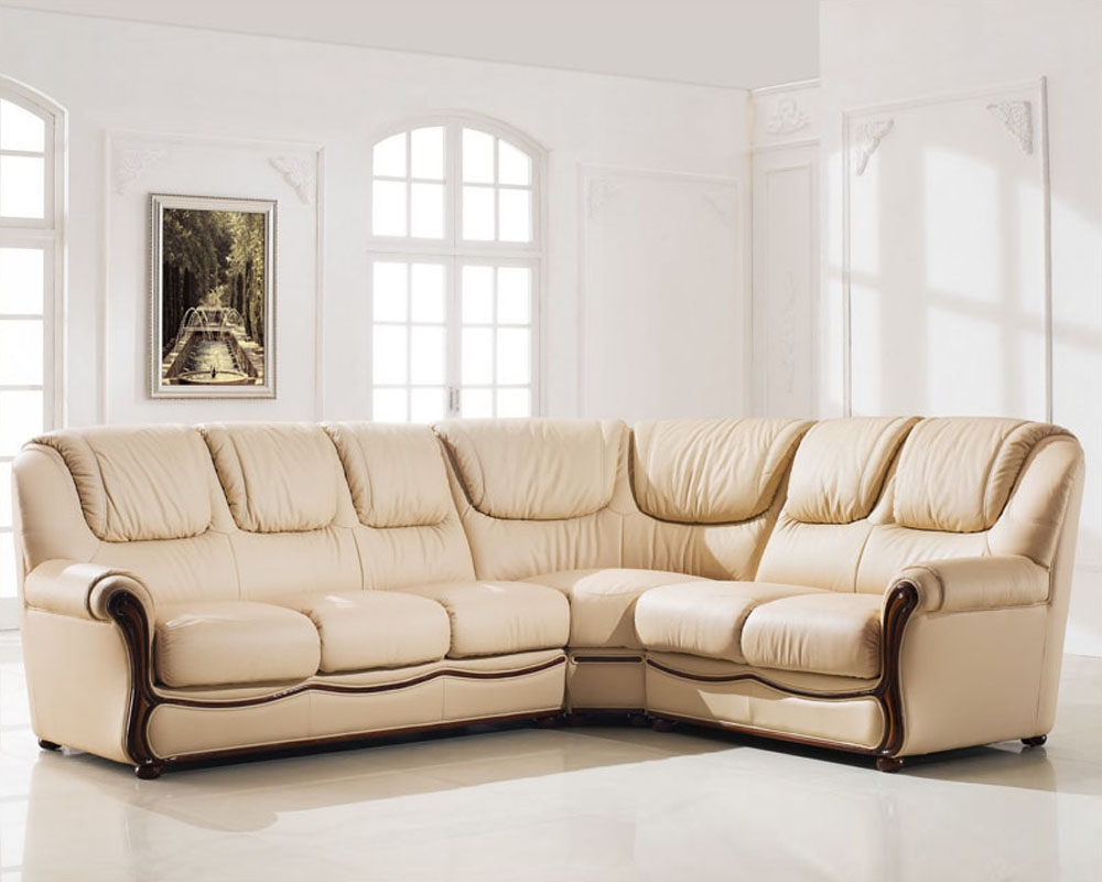 Elegant Sectional Sofa Set With Sleeper Esf102 Regarding Elegant Sectional Sofas (Image 8 of 15)