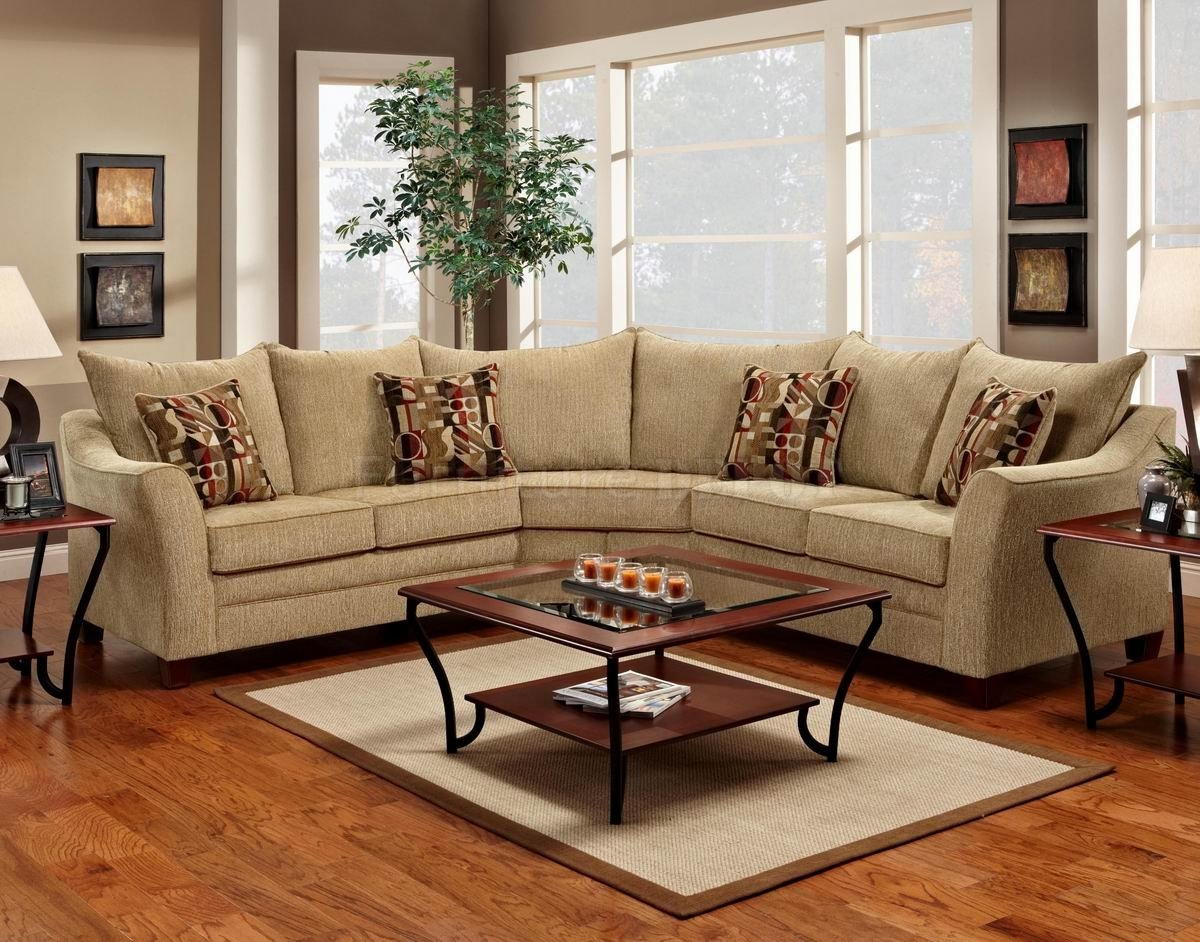 Elegant Sectional Sofas And Chocolate Fabric Modern Elegant Throughout Elegant Fabric Sofas (Image 9 of 15)