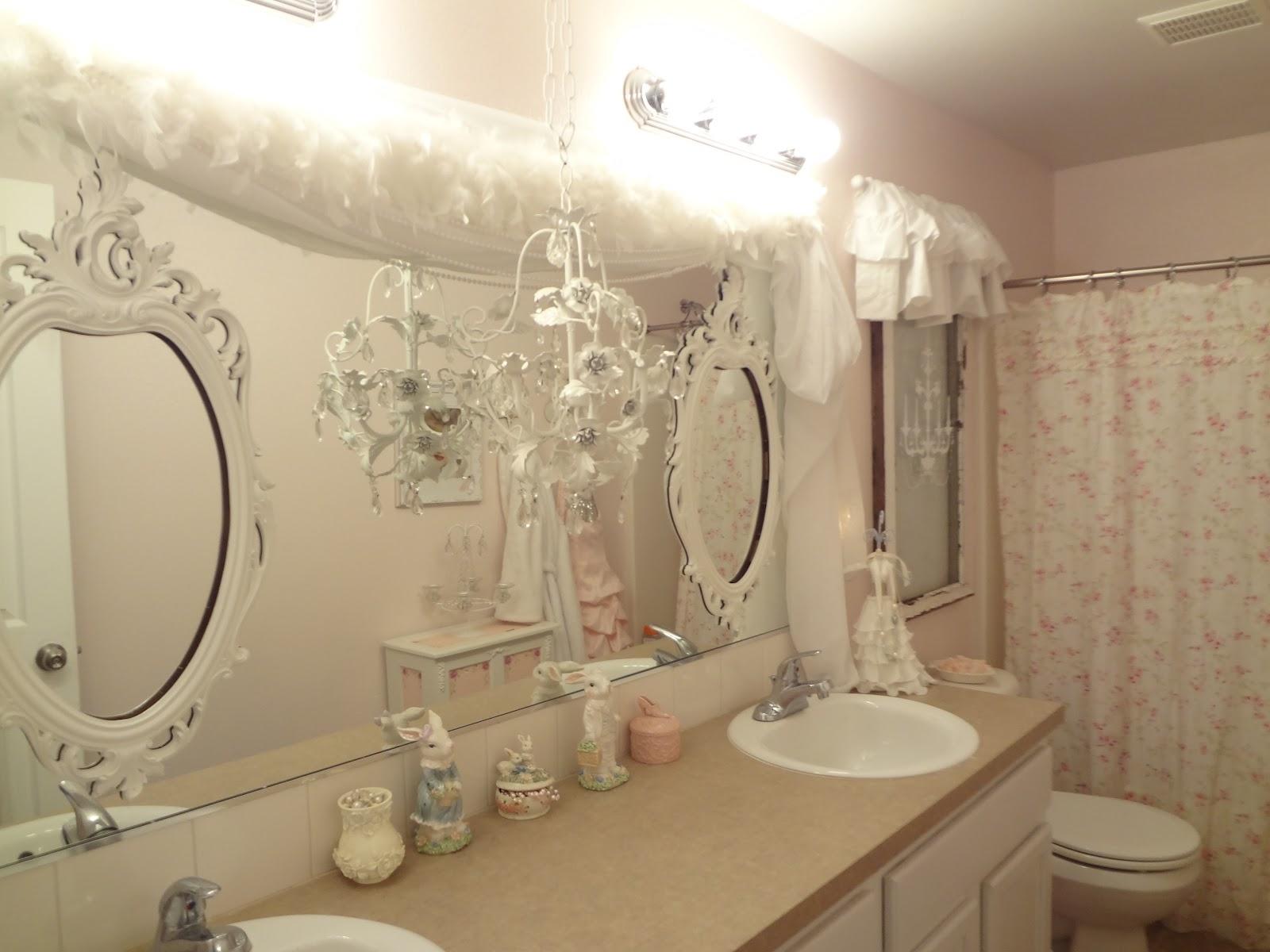Elegant Shab Chic Bathroom Mirrors 17 With Shab Chic Bathroom Regarding Shabby Chic Bathroom Mirrors (Image 4 of 15)