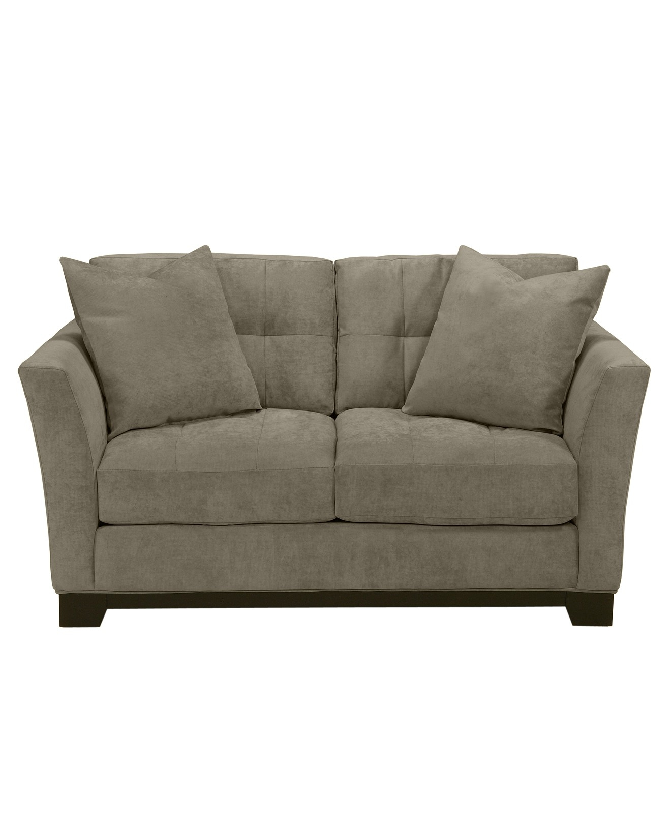 Elliot Fabric Microfiber Loveseat Couches Sofas Furniture For Elliott Sofa (Image 9 of 15)