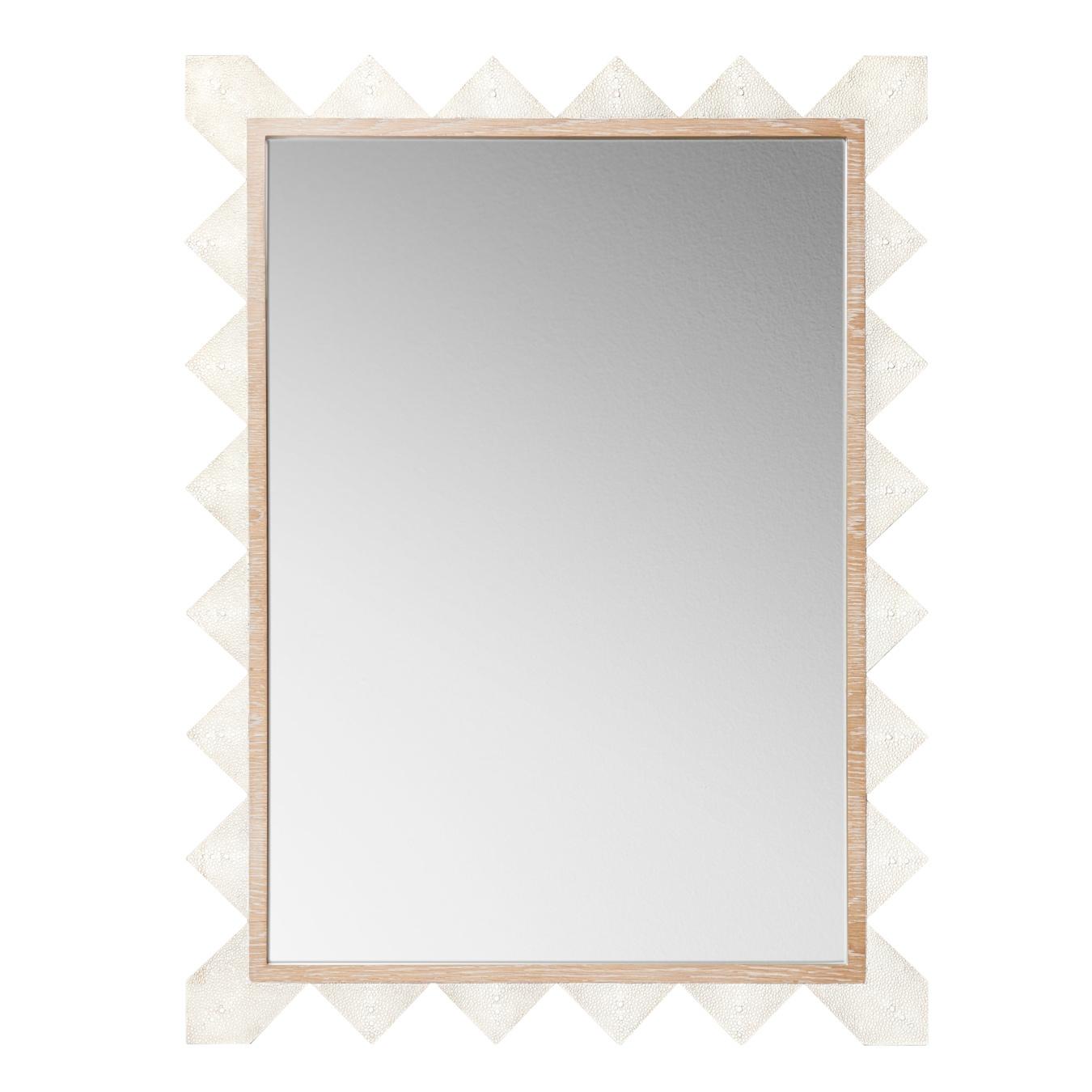 Emporium Home Chancey Cream Wall Mirror Regarding Cream Wall Mirror (Image 8 of 15)