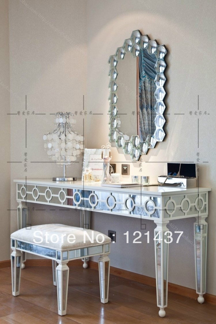 Entrance Tables Mirror Contemporary Mirror Furniture Modern With Regard To Contemporary Dressing Table Mirrors (Image 9 of 15)
