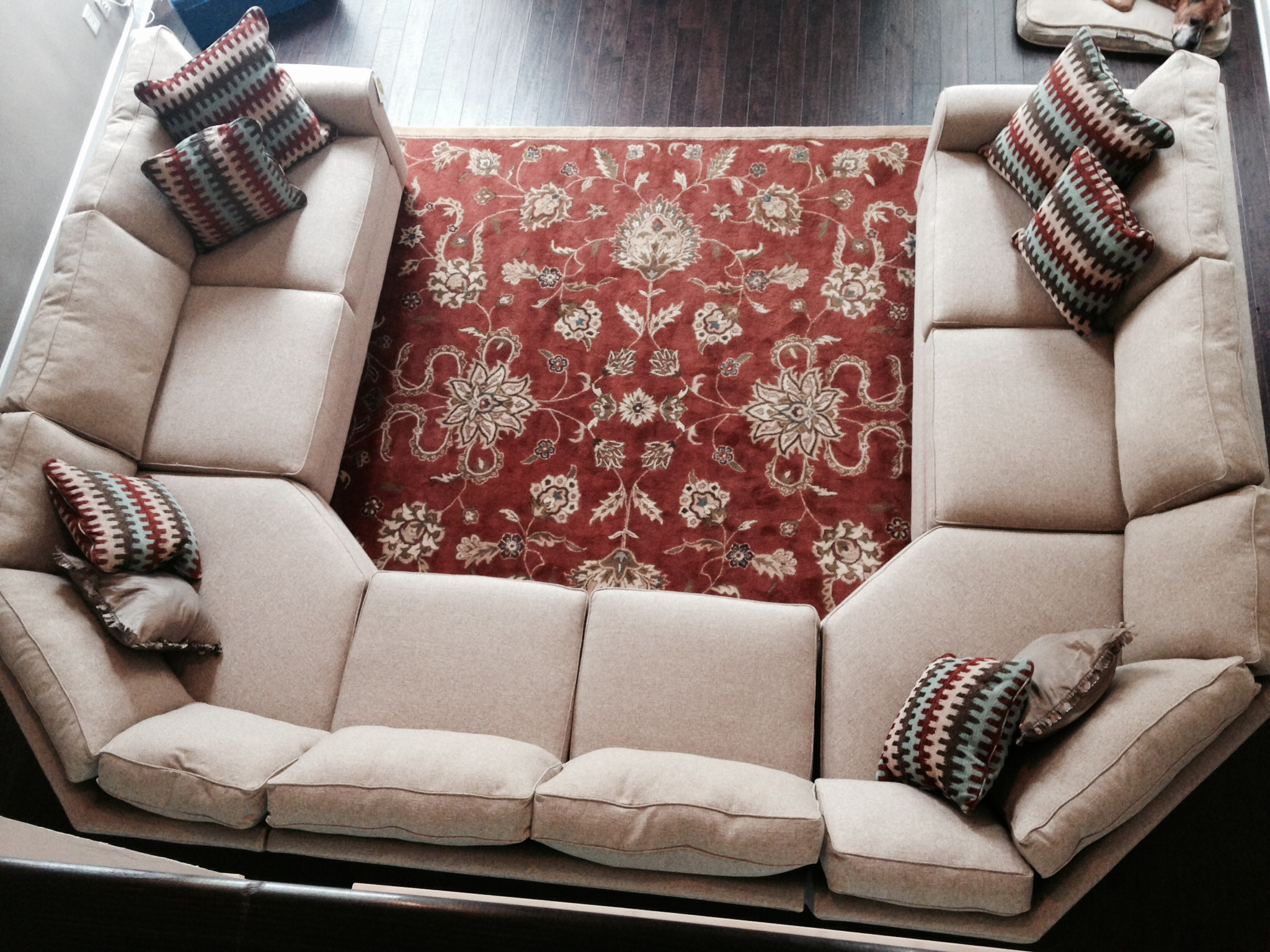 Epic Cheap U Shaped Sectional Sofas 35 About Remodel Backless In Backless Sectional Sofa (Image 9 of 15)