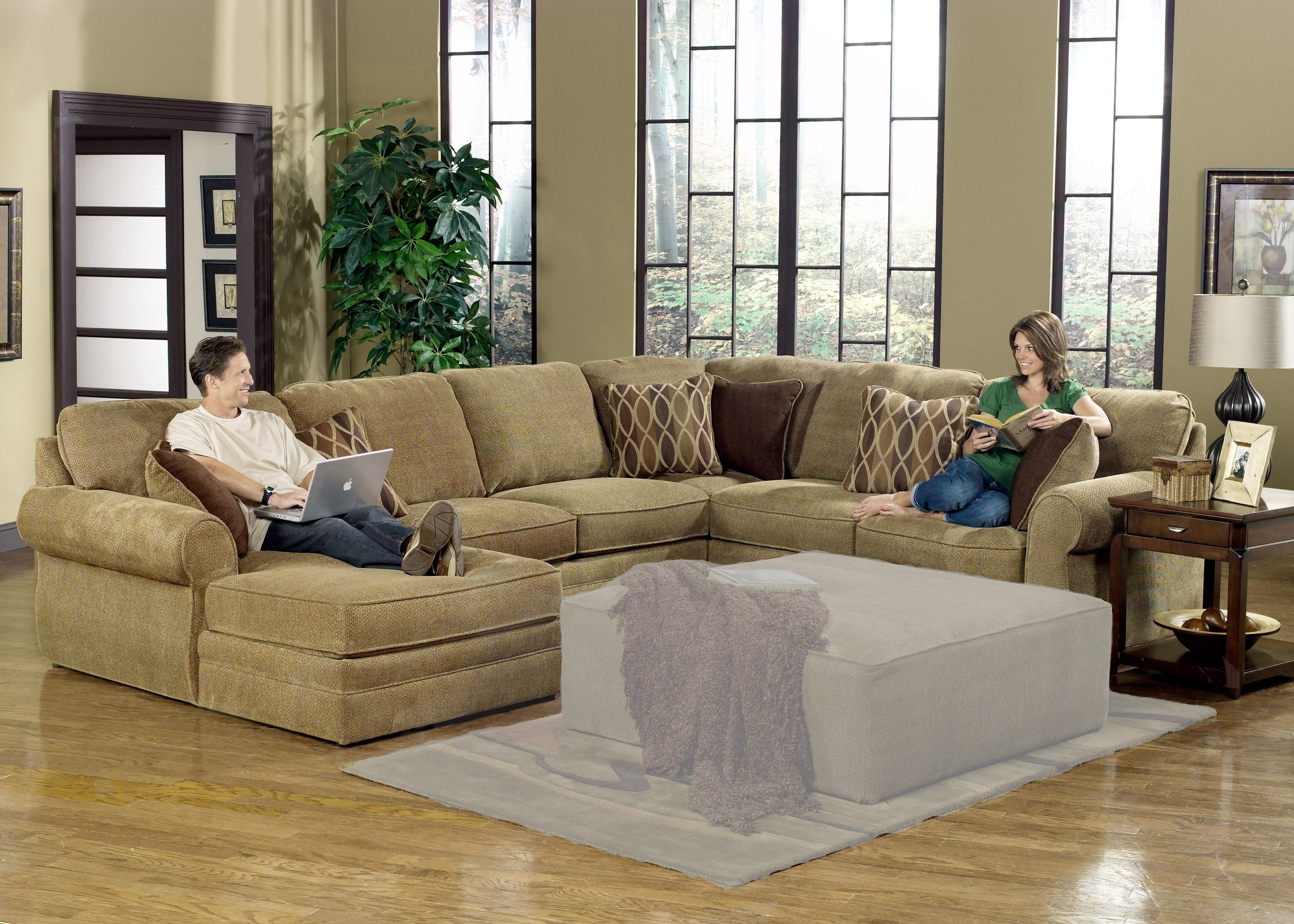 Epic Cheap U Shaped Sectional Sofas 35 About Remodel Backless With Regard To Backless Sectional Sofa (Image 11 of 15)