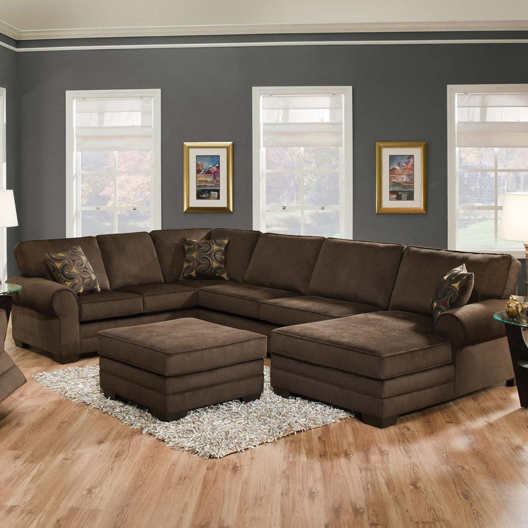 Everest 3 Piece Sectional With Sofa And 2 Chaises Best Sofa Regarding Bradley Sectional Sofa (Image 10 of 15)