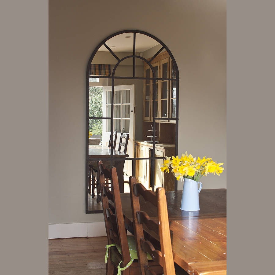 Excellent Ideas Arched Wall Mirror Beautiful Idea Arched Crowned In Arched Mirrors (Image 11 of 15)