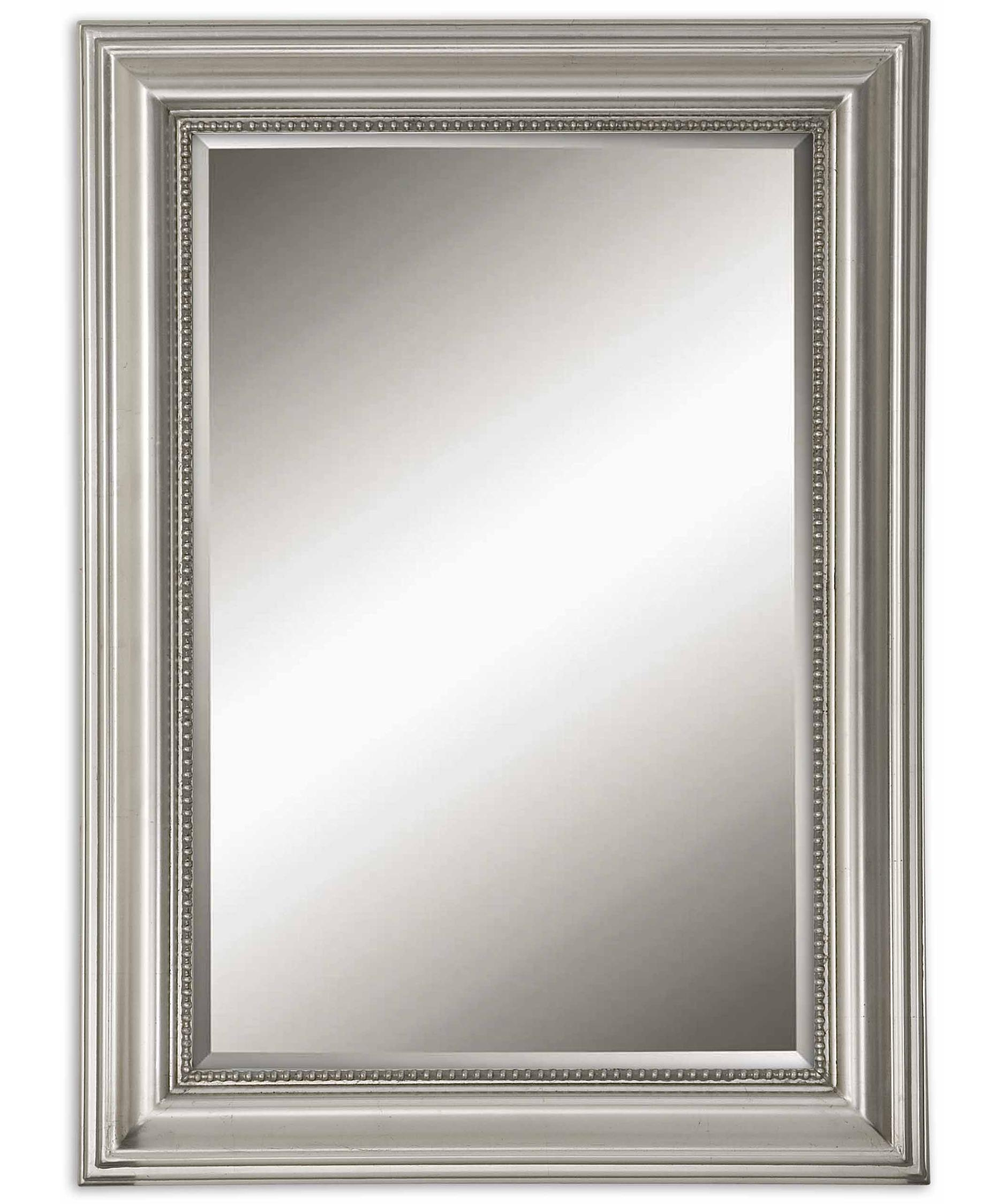 Exquisite Decoration Silver Wall Mirrors Attractive Inspiration Within Ornamental Mirrors (Image 7 of 15)