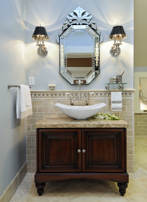 Exquisite Ideas Venetian Mirror Bathroom Bathroom Decor Within Venetian Bathroom Mirror (View 7 of 15)